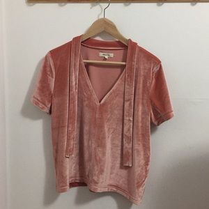 Madewell top blouse M